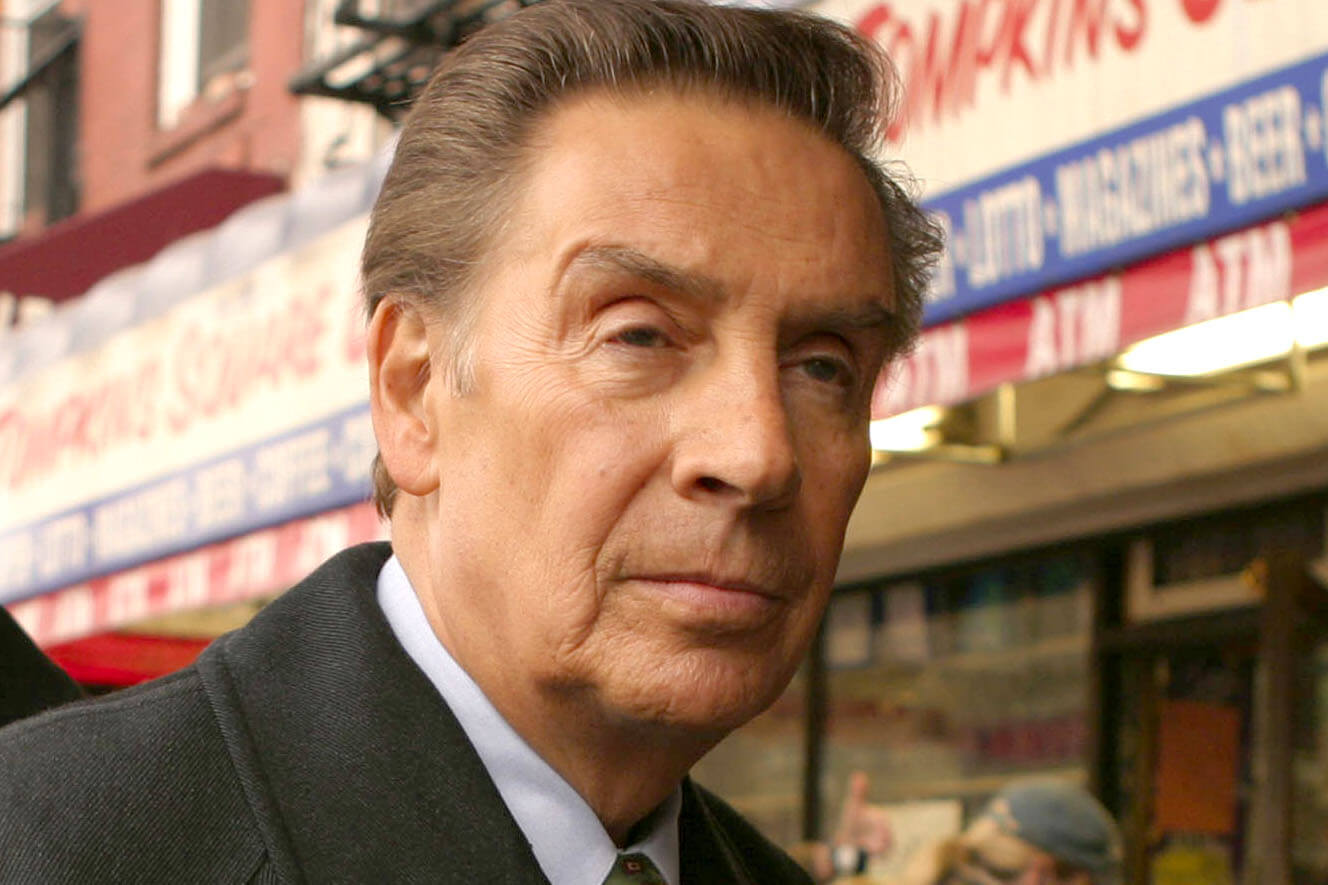 #10 Jerry Orbach | Celebrities With Ties To The Mafia | Image Source: nypost.com