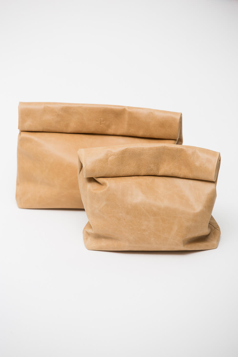 #10 Luxe Leather Lunch Bag | Sophisticated Lunch Carriers | Image Source: shopacrimony.com