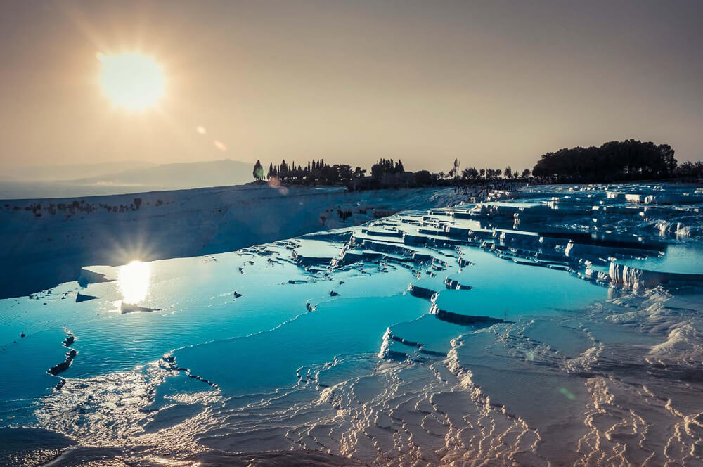 # 10 Pamukkale, Turkey | 10 Unique Places Around The World - EALUXE | via