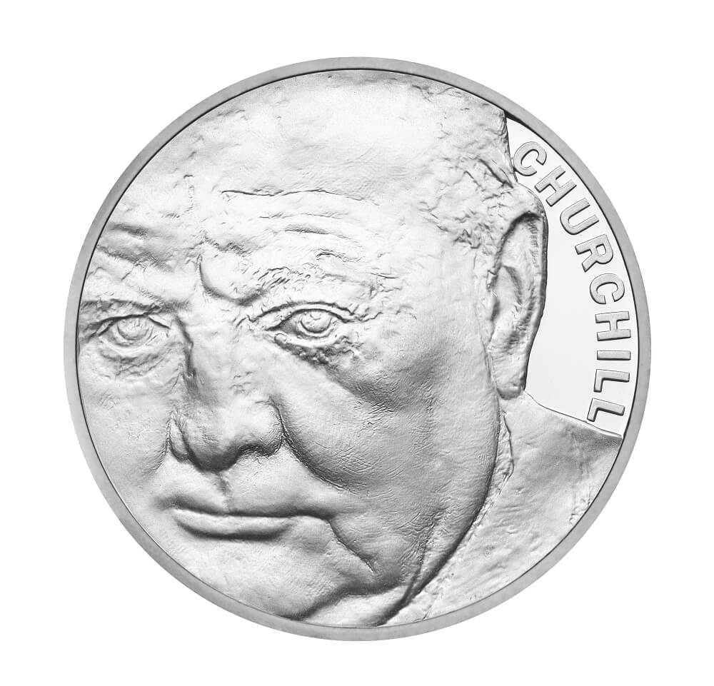 #10 Winston Churchill Coin | Awesome Commemorative Coins | Image Source: blog.royalmint.com