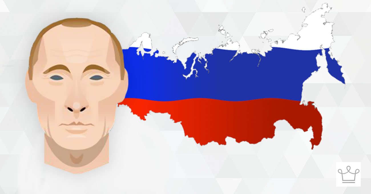 25 insane things you didn't know about russia ealuxe infographic vladimir putin cover for the post