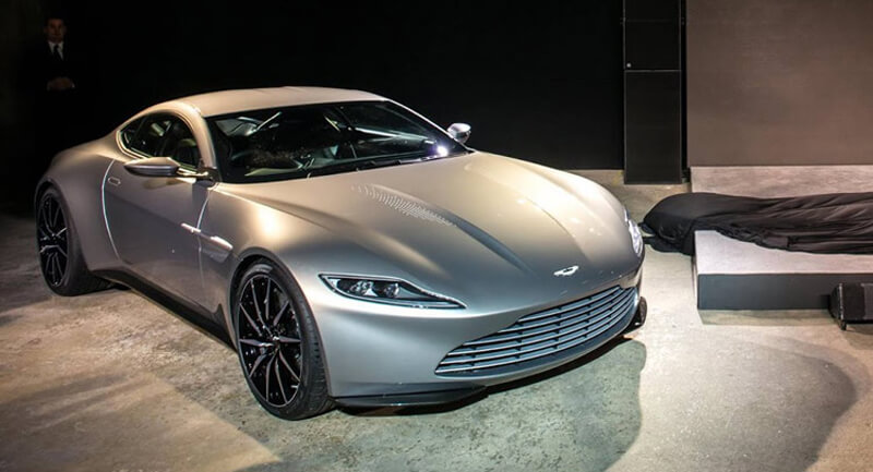 Aston Martin DB10 Featured In Spectre Movie | via carscoops.com