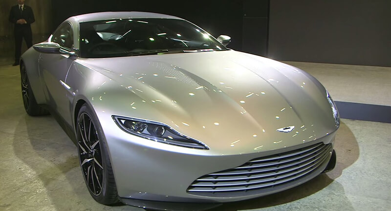 Aston Martin DB10 Featured In Spectre Movie | via prestigevehicleinsurance.co.uk