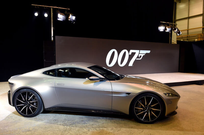 Aston Martin DB10 Featured In Spectre Movie | via infobae.com