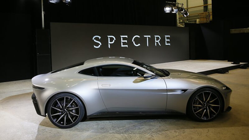 Aston Martin DB10 Featured In Spectre Movie | via autoblog.com