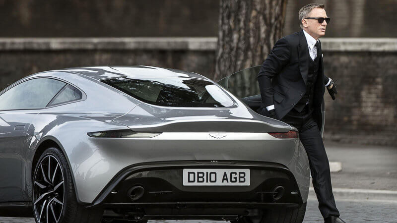 Aston Martin DB10 Featured In Spectre Movie | via reddit.com