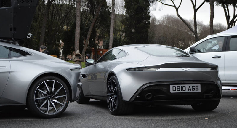 Aston Martin DB10 Featured In Spectre Movie | via auto.huanqiu.com