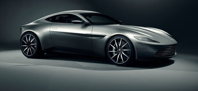 James Bond Gets A New Aston Martin DB10 For Spectre Movie
