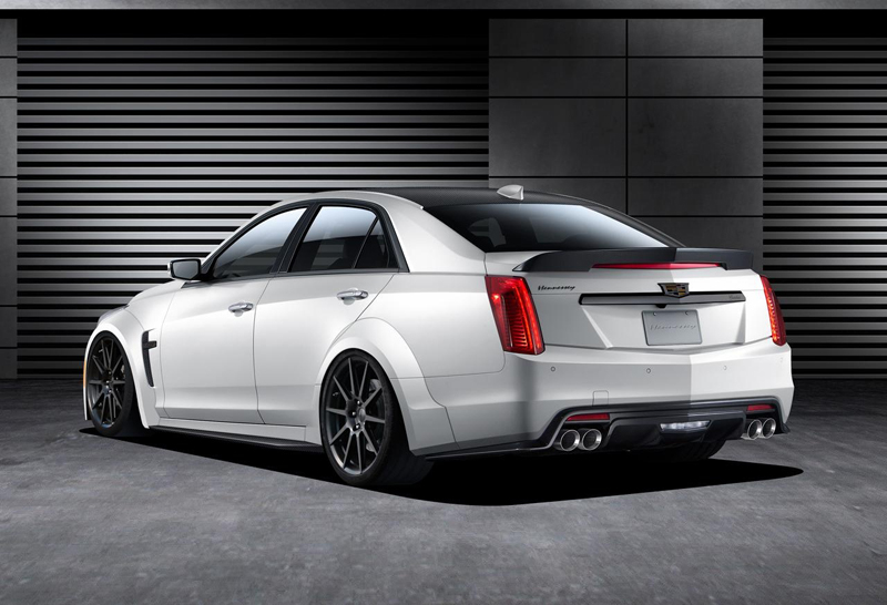 Cadillac CTS-V Hennessey Features A Luxury Design | via digitaltrends.com