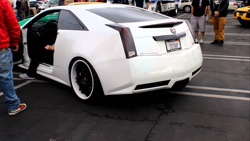 Cadillac CTS-V Hennessey Features A Luxury Design | via youtube.com