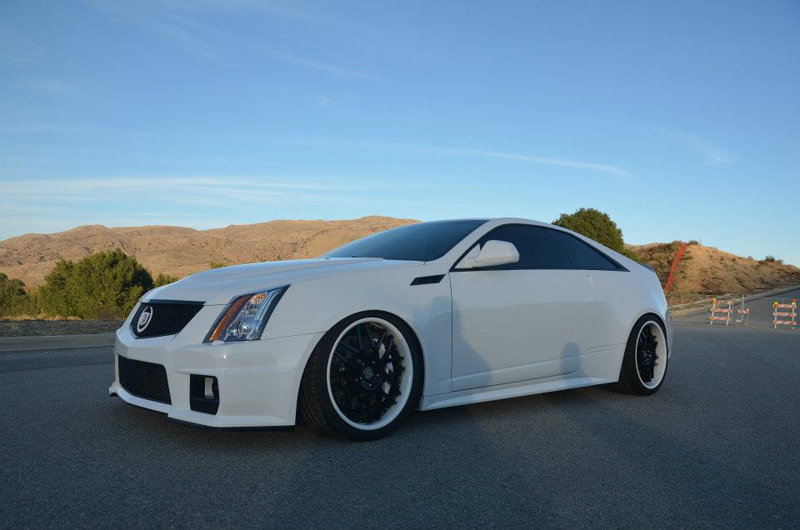 Cadillac CTS-V Hennessey Features A Luxury Design | via boostaddict.com