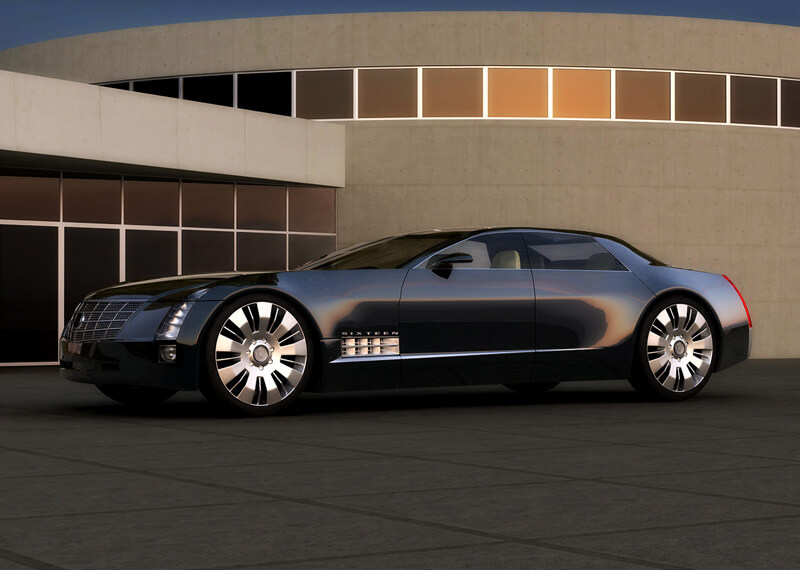 Cadillac Sixteen Is A Luxury Car Concept - EALUXE | via oppositelock.jalopnik.com