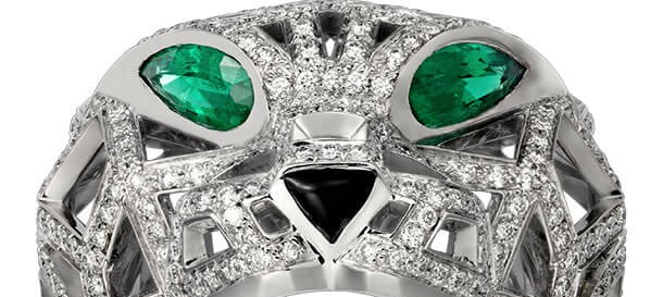 Check out The Amazing Cartier's Panthère De Cartier Ring!