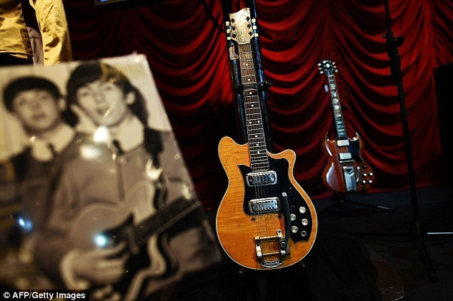 George Harrison's Guitar He Used for Two Months Sells for $485k
