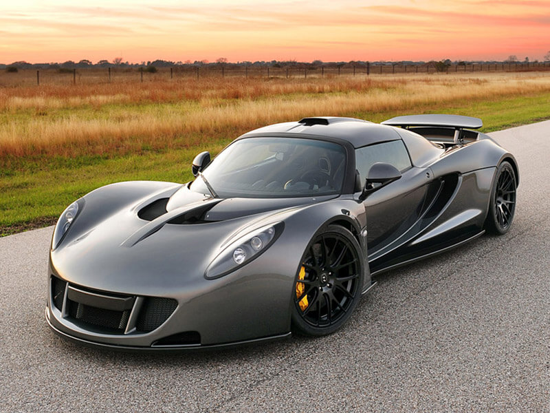 Hennessey Venom GT - An Outstanding Super Car - $ 960.000 | via news.drom.ru