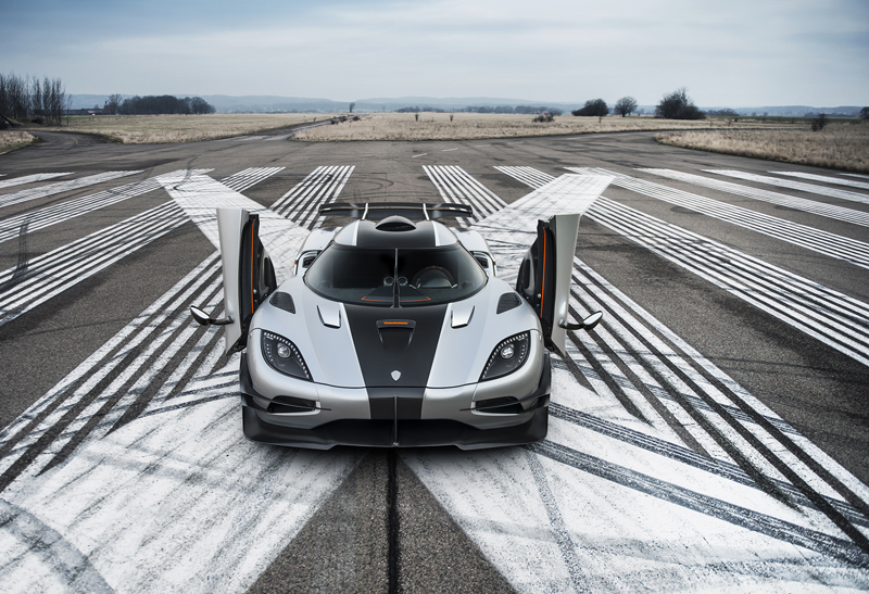 Koenigsegg One-1 - Powerful Production Car | via autogespot.ro