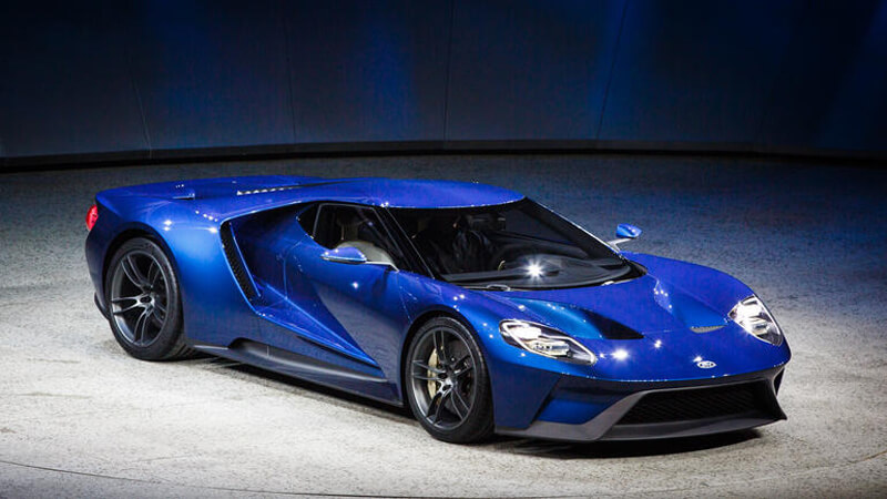 New Ford GT Supercar Will Compete At Le Mans | via cnet.com