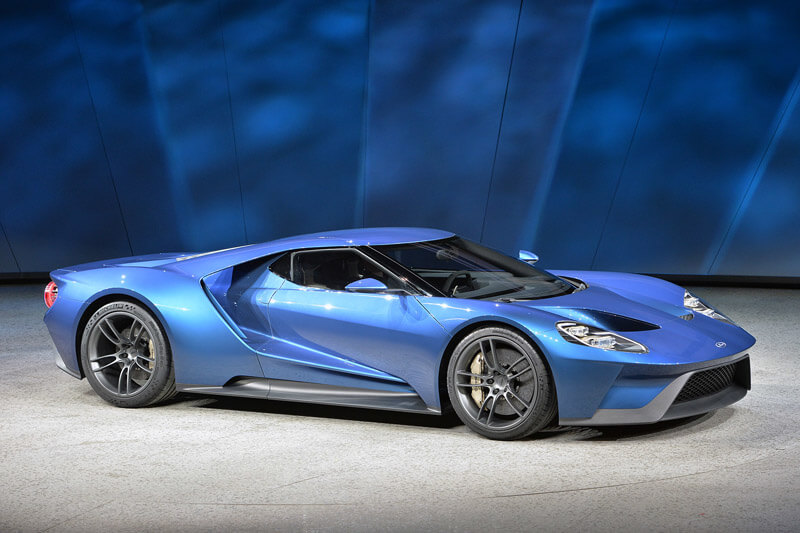 New Ford GT Supercar Will Compete At Le Mans | via horsepowerkings.com