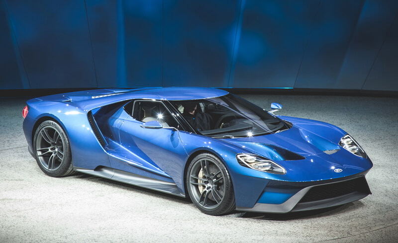 New Ford GT Supercar Will Compete At Le Mans | via caranddriver.com