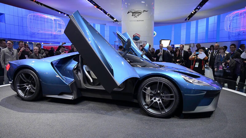 New Ford GT Supercar Will Compete At Le Mans | via youtube.com
