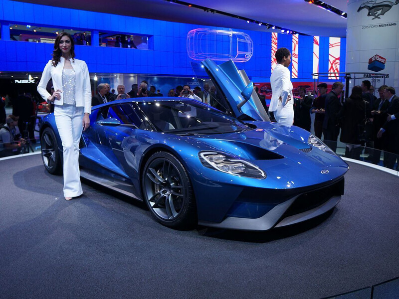 New Ford GT Supercar Will Compete At Le Mans | via largus.fr