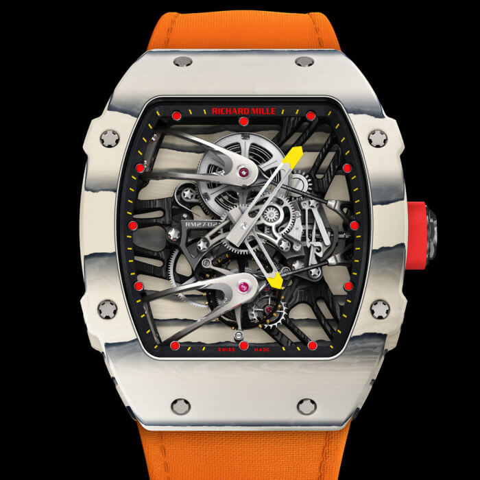 Rafael Nadal Set to Wear Richard Mille Tourbillon RM 27-02