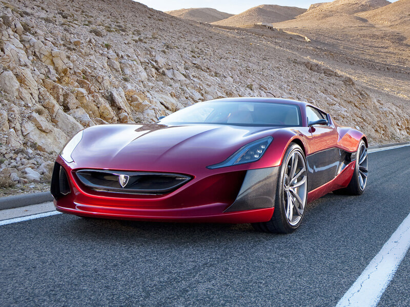Rimac Concept One - World's First Electric Supercar | via autoinfo.mk