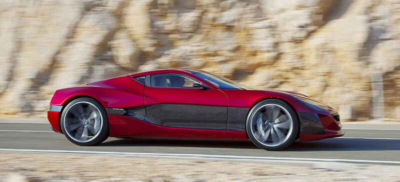 Rimac Concept One - World's First Electric Supercar | via unfinishedman.com