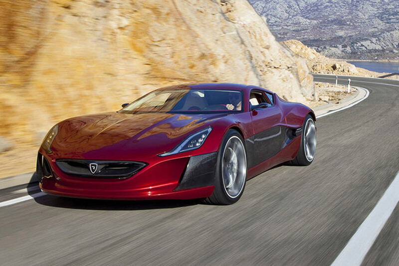 Rimac Concept One - World's First Electric Supercar | via autobild.de
