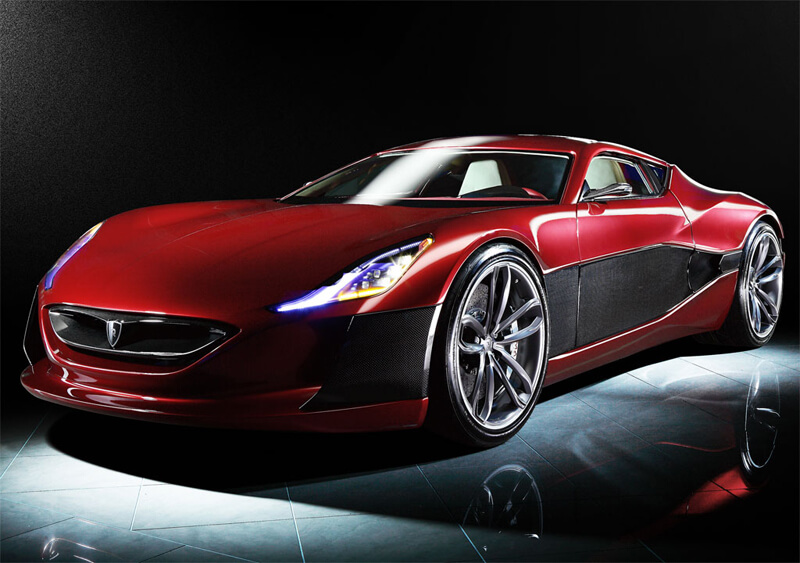 Rimac Concept One - World's First Electric Supercar | via motorauthority.com