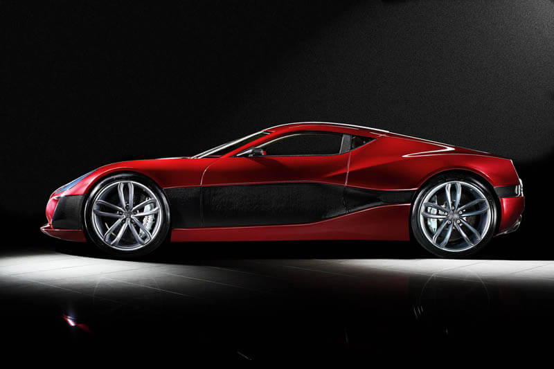 Rimac Concept One - World's First Electric Supercar | via auto-blog.com.mx