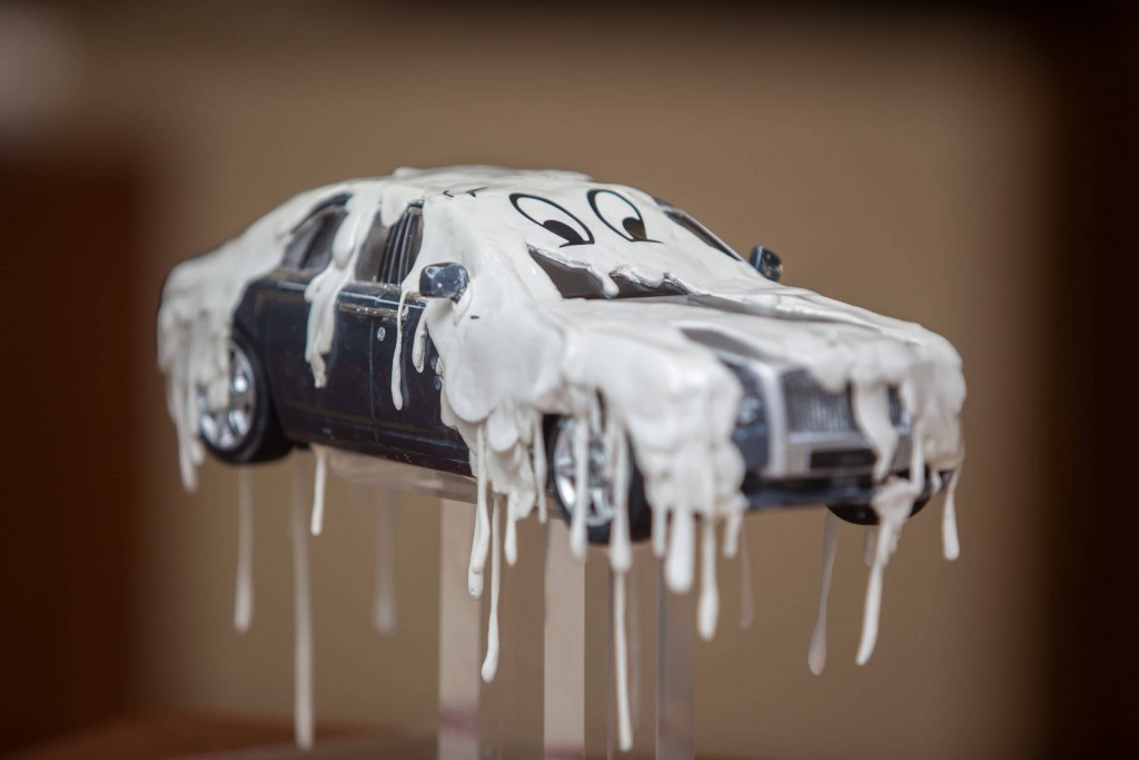 Rolls-Royce Ghost Miniature Models for Breast Cancer Care
