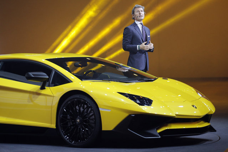 The Lamborghini Aventador SV Has Sold Out - EALUXE | via avaxnews.net