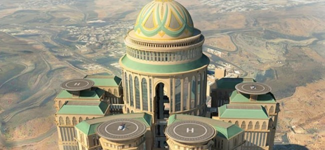 The Largest Hotel in The World To Open In Saudi Arabia