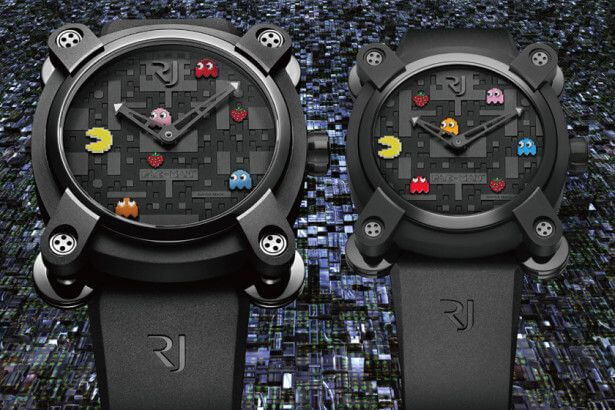The Pac-Man Watch by Romain Jerome