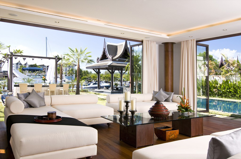 This Luxury Villa From Thailand Features A Yacht Dock 8