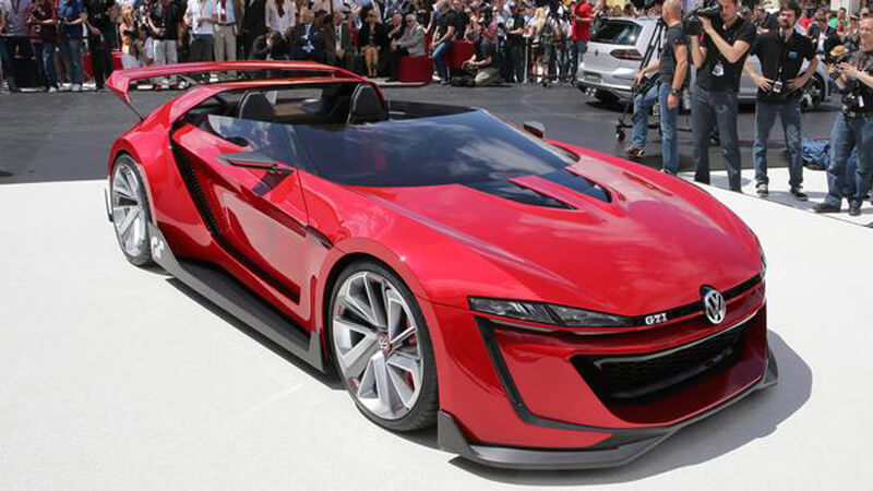 Volkswagen GTI Roadster Features One Insane Concept | via bbc.com