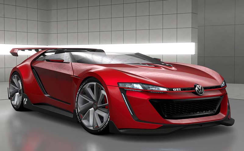 Volkswagen GTI Roadster Features One Insane Concept | via diseno-art.com