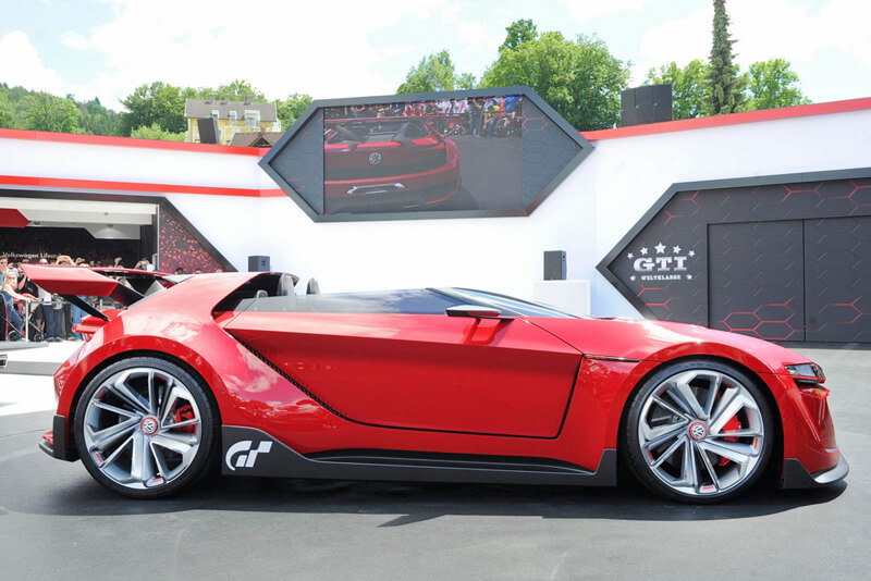Volkswagen GTI Roadster Features One Insane Concept | via biser3a.com