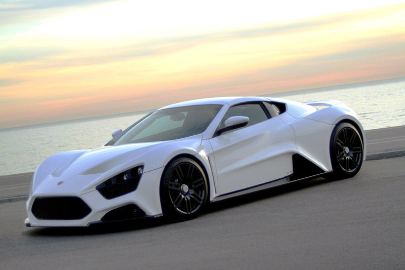 Zenvo ST1 - A Luxurious High Performance Vehicle | via diecastsociety.com