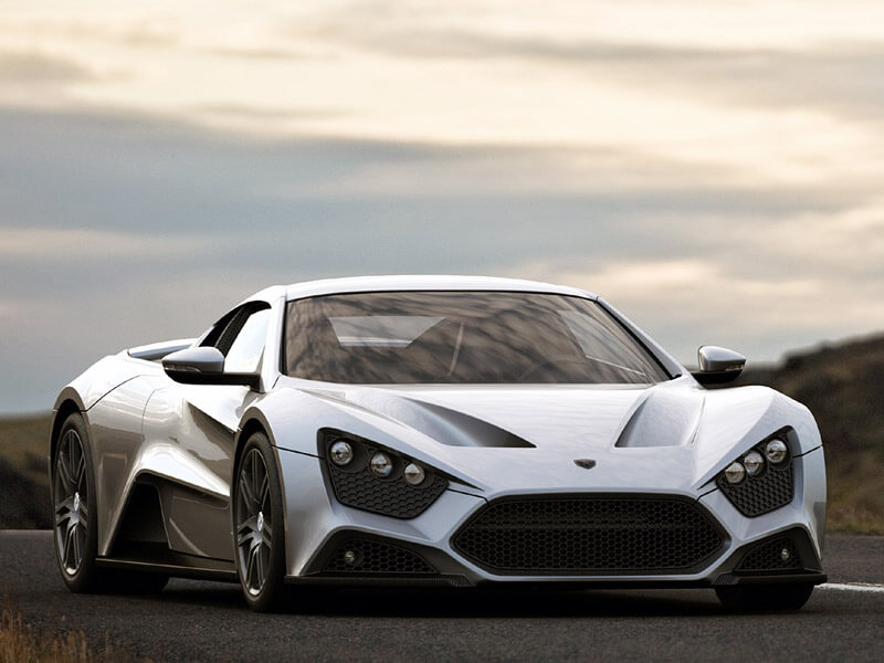 Zenvo ST1 - A Luxurious High Performance Vehicle | via thesupercars.org