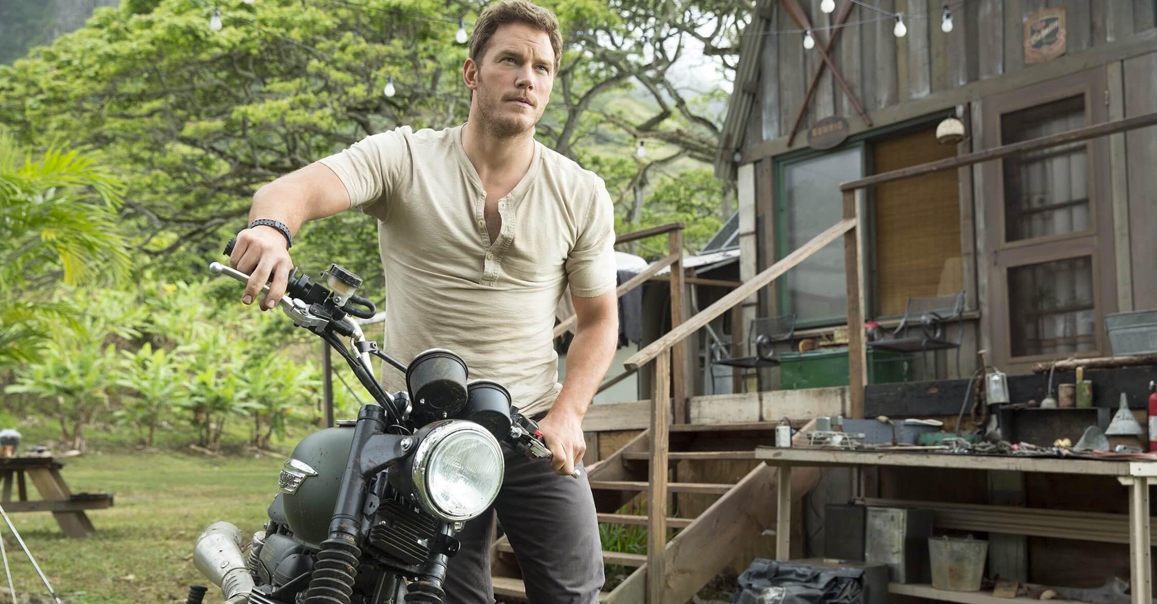 Chris Pratt's Motor from Jurassic World is set for Auction