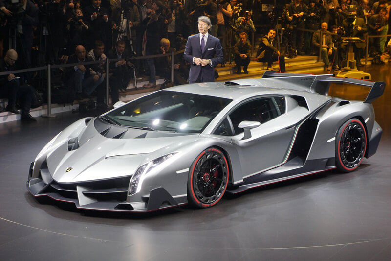 Lamborghini Veneno - An Outstanding Expensive SuperCar | via motorauthority.com