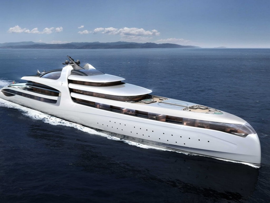 Admiral X-Force 145 by Admiral Yachts Is the Ultimate Mega Yacht