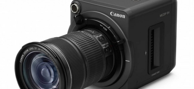Canon's $30k Camera Will Let You Shoot in Extreme Darkness