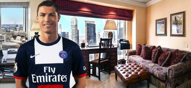 Take a Look Inside Cristiano Ronaldo's $18.5m Apartment in Trump Tower