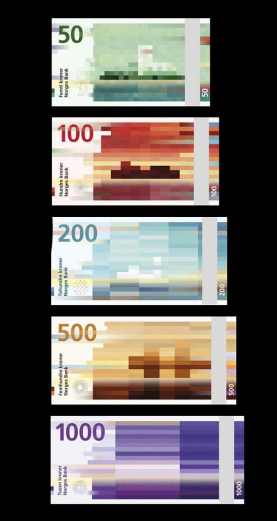 First Look: Norway's Money Will Look Like This in 2017!