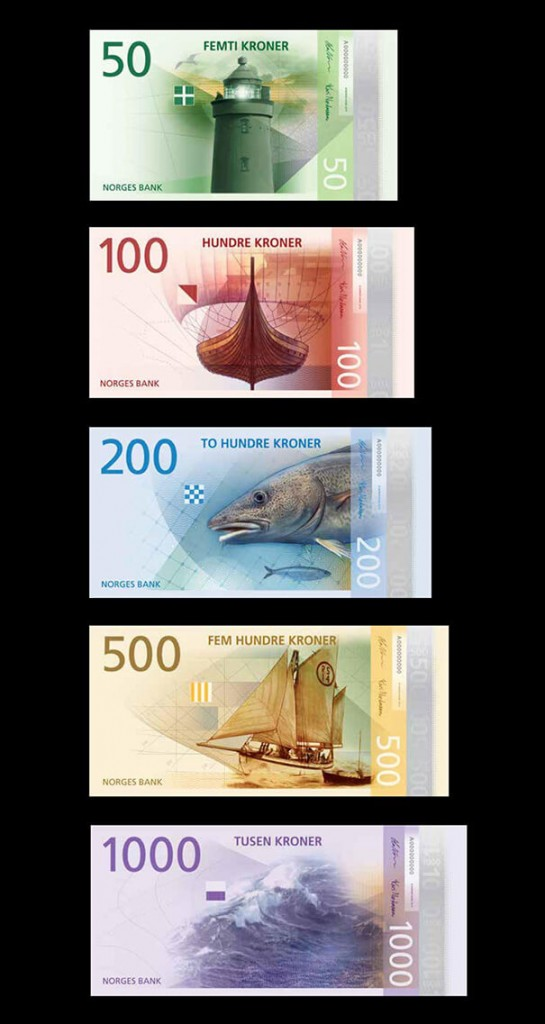 First Look Norway's Money Will Look Like This in 2017! (2)