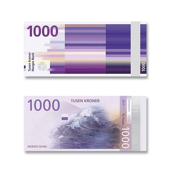 First Look Norway's Money Will Look Like This in 2017!