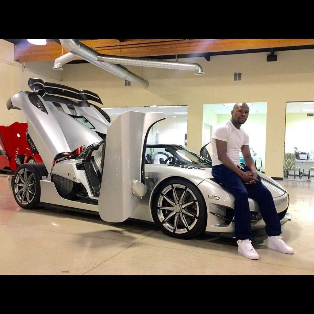 Floyd Mayweather Spends $4.8 million on An Hypercar